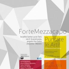 """Project """"10 Chimere""""  - L'installazione """"Chimera1 - L'arte della guerra"""" a Forte Mezzacapo (VE)."""
