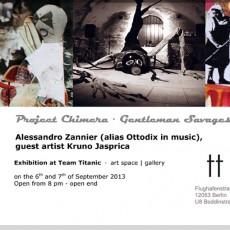 """(Italiano) Project """"10 Chimere""""  - L'installazione """"Chimera2 - L'eterna giovinezza"""" esposta a Berlino."""