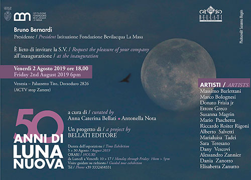 50 YEARS OF LUNA NUOVA opens in Venice